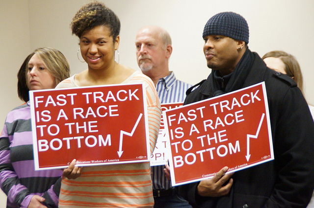 Ohio Democratic Party Voted To Oppose Fast Track of TPP.