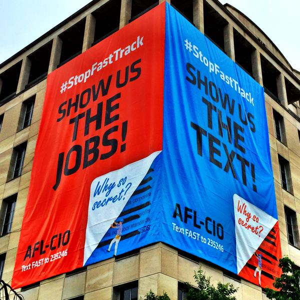 Show Us The Text! Show Us The Jobs! #TPP