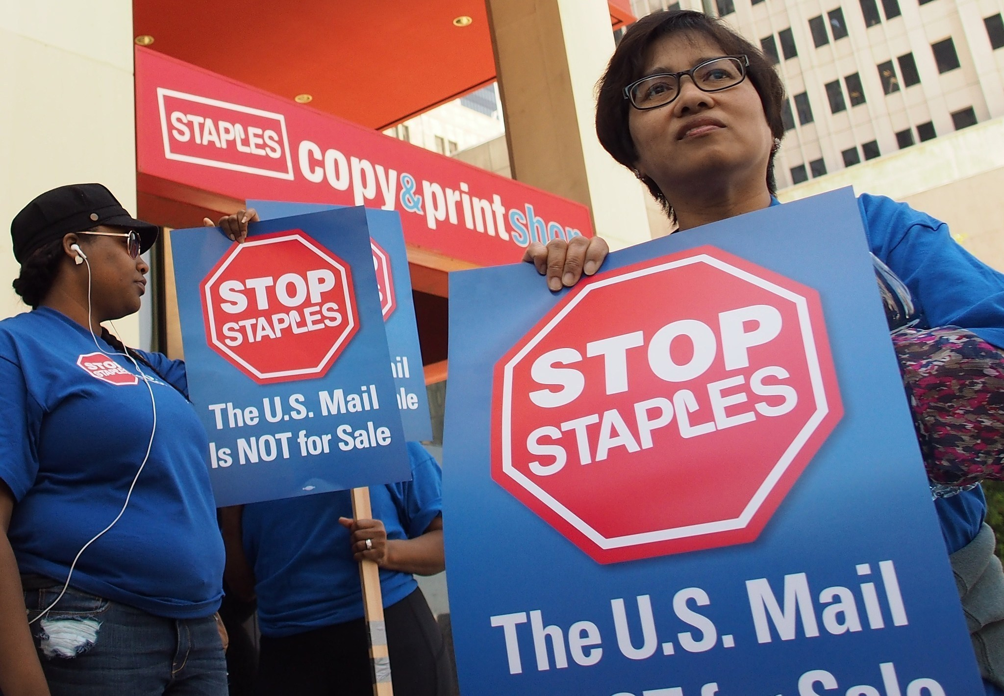 Big Win For Postal Service Employees… Don't Buy Staples!
