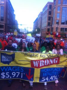 Over 3000 working people rally to #DefendTheDream