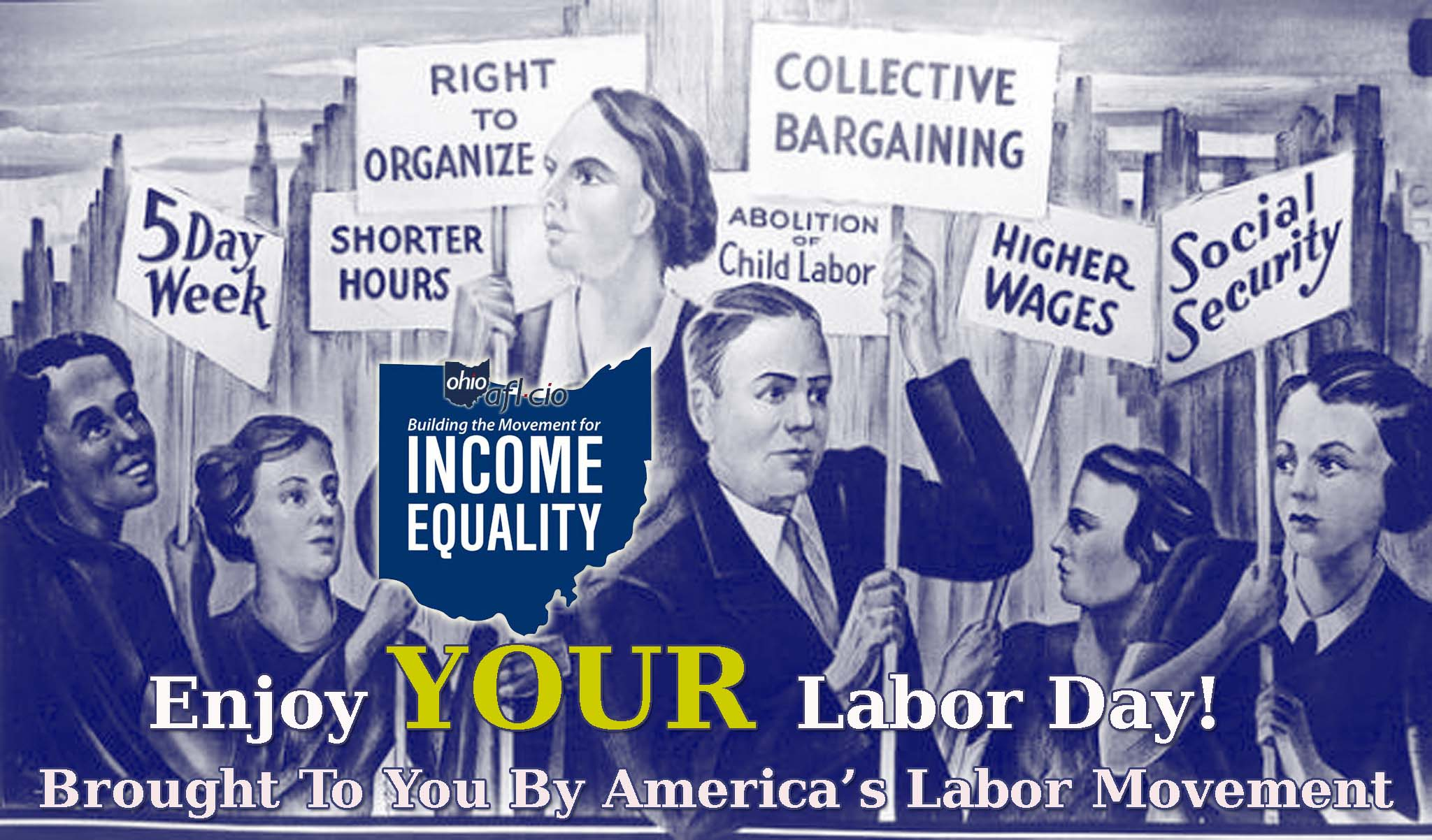 A Labor Day Message From Ohio AFL-CIO President Tim Burga