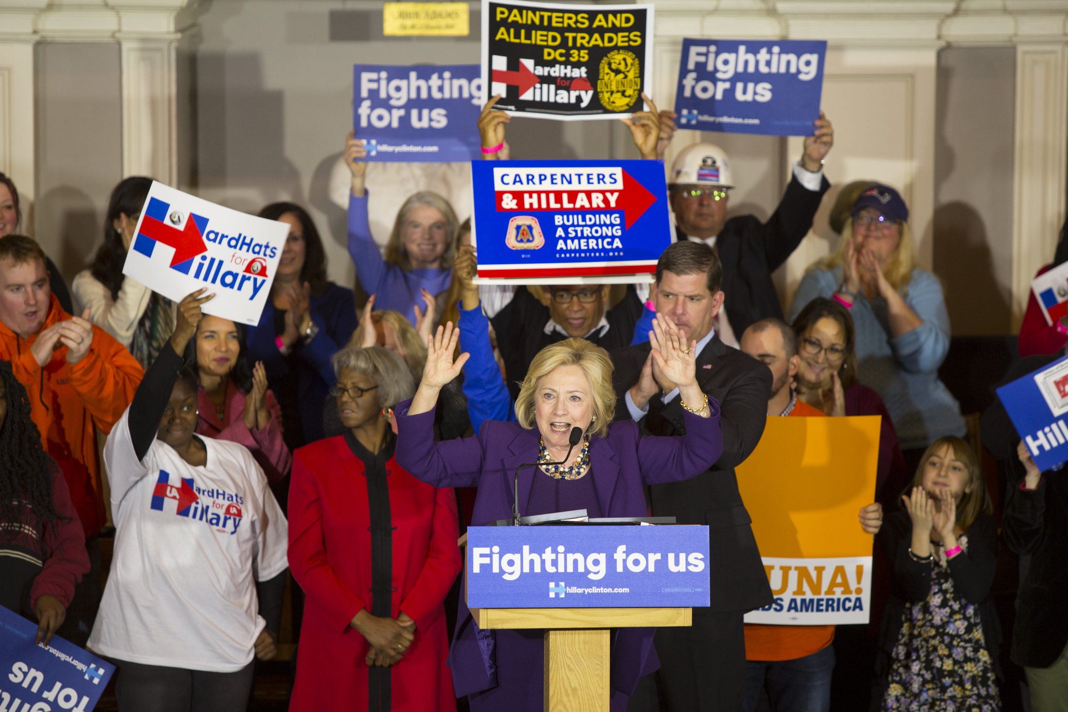 Ohio AFL-CIO Endorses Hillary Clinton For President