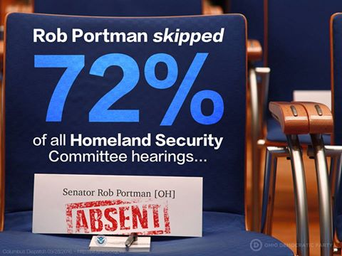 Ohio Veterans And Servicemembers Call On Portman To Step Down From Homeland Security Committee For Missed Hearings On Domestic Terrorism