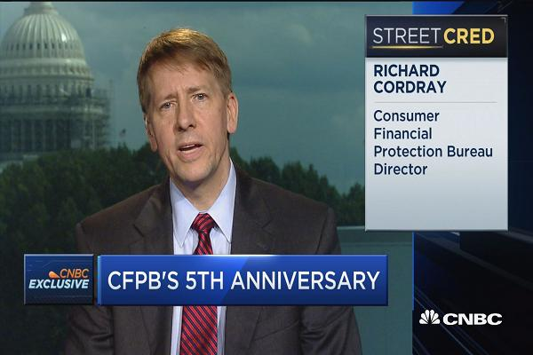Consumer Protection Bureau Richard Cordray Braces For A Reckoning Under President-Elect Trump