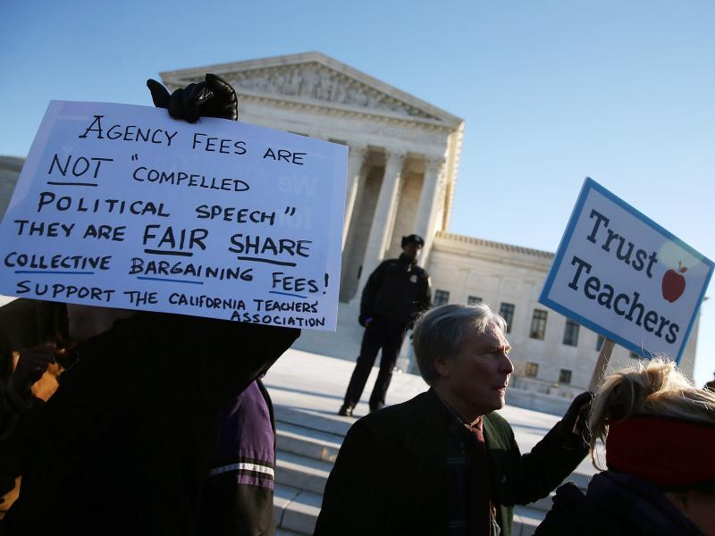 Supreme Court Again Will Consider Mandatory Fees To Public-employee Unions