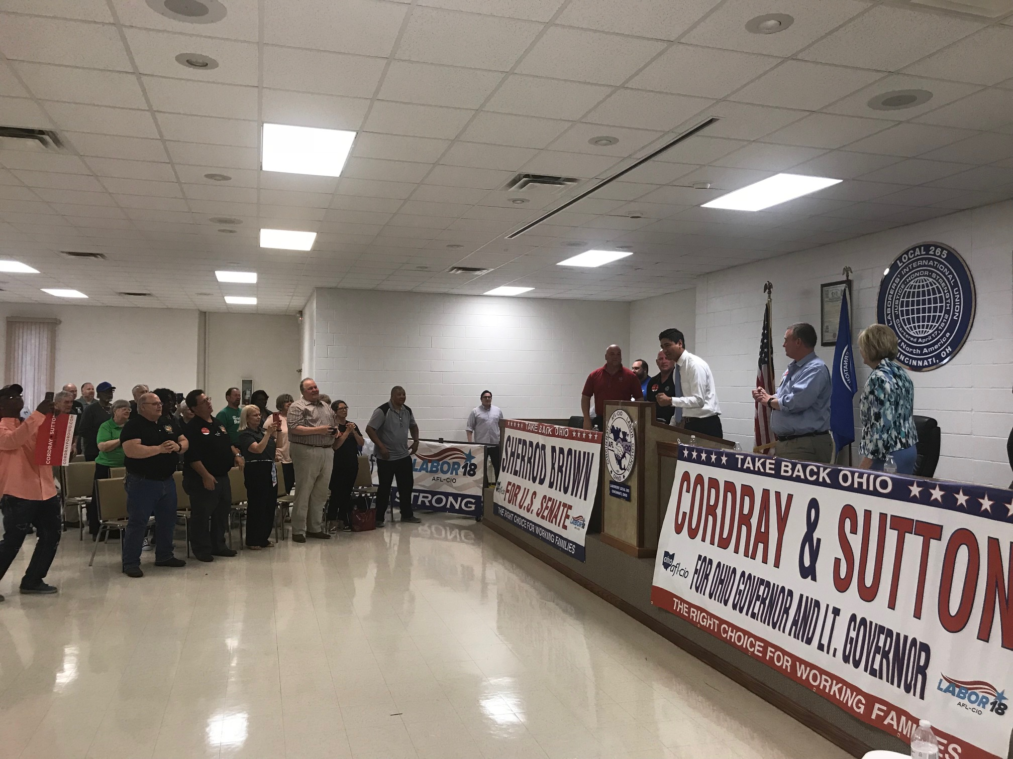 Working People Launch Labor 2018 Election Effort With Rally In Cincinnati