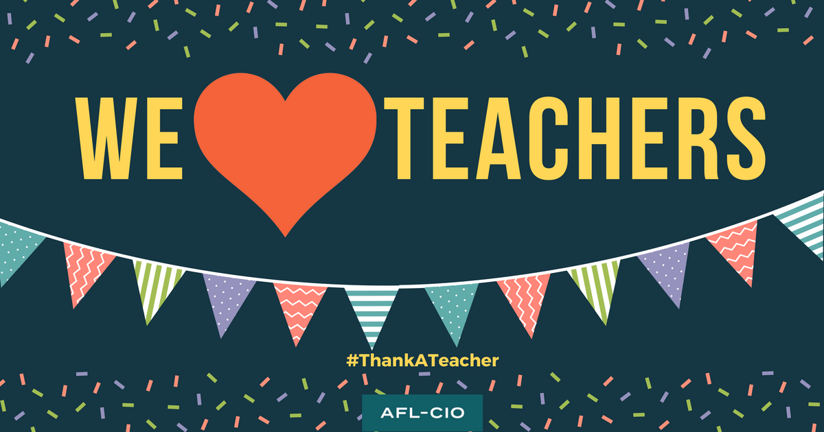Teaching Solidarity On Teacher Appreciation Day