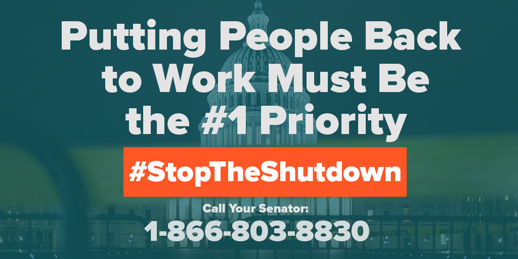 End The Government Shutdown: Call Your Senator Now!