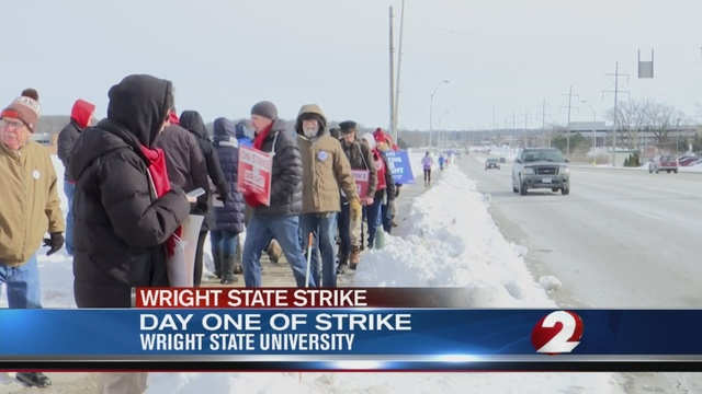 Wright State Profs Sign Contract After Longest Higher Ed Strike In Ohio's History